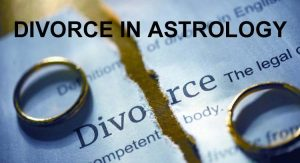 divorce in astrology