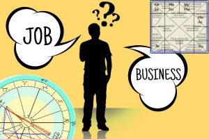 job or business as per astrology